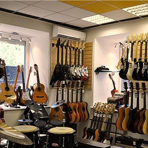 Музыкальные магазины Мокшана